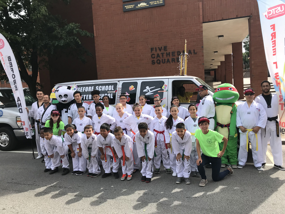 USTCOMPLEX TKD at the Rhode Island Parade!